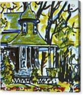 Kew Gardens Gardener's Cottage Acrylic Print
