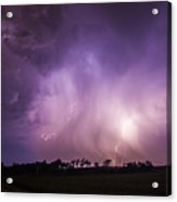 Kewl Nebraska Cg Lightning And Krawlers 017 Acrylic Print