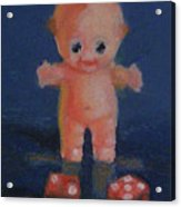 Kewpie On A Roll Acrylic Print