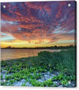 Key Biscayne Sunset Acrylic Print
