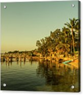 Key Largo Gold  Acrylic Print