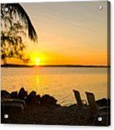 Key Largo Sunrise Acrylic Print
