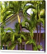 Key West Bungalow Acrylic Print
