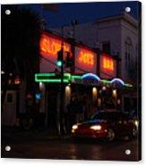 Key West By Night Acrylic Print