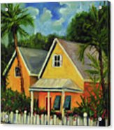 Key West Cottage Acrylic Print