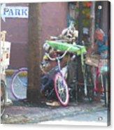 Key West Duval Street Conversation Acrylic Print