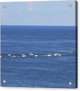 Key West Fishing Acrylic Print