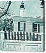 Key West Lighthouse Impression Acrylic Print