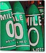 Key West Mile Zero Acrylic Print