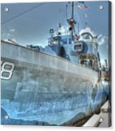 Key West Navy Ship Acrylic Print
