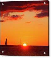 Key West Red Cloud Sunset Acrylic Print