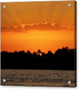 Key West Sunset 25 Acrylic Print