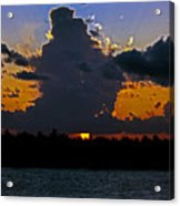 Key West Sunset Glory Acrylic Print