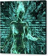 Keyed To The Matrix Acrylic Print