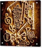 Keys Of A Symphonic Orchestra Acrylic Print