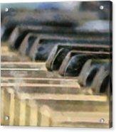 Keys To My Heart Acrylic Print