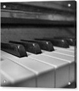Keys To The Piano Acrylic Print