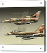 Kfir And Netz Acrylic Print