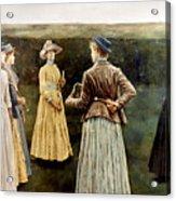 Khnopff: Memoires, 1889 Acrylic Print