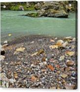 Khosty River. Acrylic Print