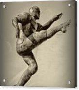 Kick Off Acrylic Print by Bill Cannon