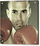 Kickboxer Acrylic Print by Oleksiy Maksymenko