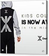 Kids Jumpsuits Acrylic Print