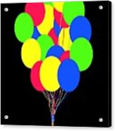 Kids Korner Balloons Acrylic Print