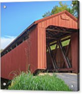 Kidwell Covered Bridge Acrylic Print