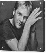 Kiefer Sutherland Acrylic Print