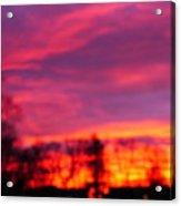 Kiera's Sunset Acrylic Print