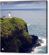 Kilauea Lighthouse On Kauai Hawaii Acrylic Print