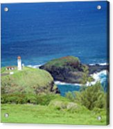 Kilauea Lighthouse Acrylic Print