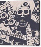 Kill The Music Industry Acrylic Print