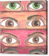 Killer Eyes Acrylic Print