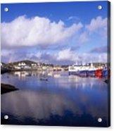 Killybegs, Co Donegal, Ireland Acrylic Print