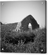 Kilmanaheen Church Ruins Ennistymon Ireland Acrylic Print