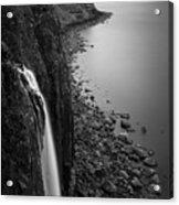 Kilt Rock Waterfall Acrylic Print