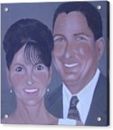Kim And Kevin Acrylic Print