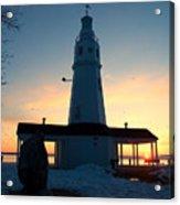 Kimberly Pointe Lighthouse Acrylic Print
