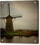 Kinderjik Windmill Acrylic Print