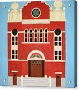 King Edward Street Shul Acrylic Print