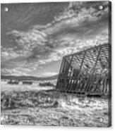 King Homestead_bw-1603 Acrylic Print