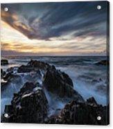King Island Sunset Acrylic Print