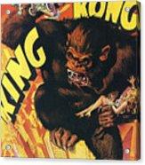 King Kong Acrylic Print by Georgia Fowler