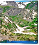 King Lake At Rollins Pass T Acrylic Print