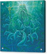 King Neptune Acrylic Print