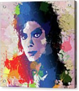 King Of Pop Acrylic Print