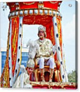 King Of Rex And Page - Mardi Gras New Orleans Acrylic Print