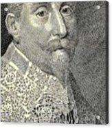 King Of Sweden Acrylic Print